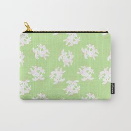 Honeysuckle Bouquet in Key Lime Carry-All Pouch