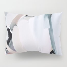 Abstract Brush Strokes, I Pillow Sham
