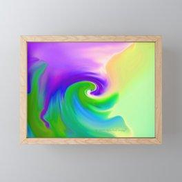 """""""Summer Garden #14"""" Print Framed Mini Art Print"""