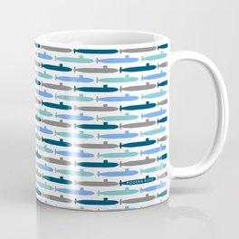 Submarine Blues Coffee Mug