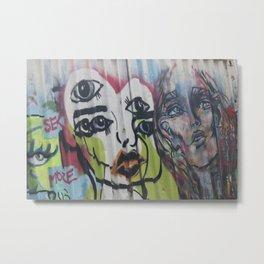 Footscray Grafitti Metal Print