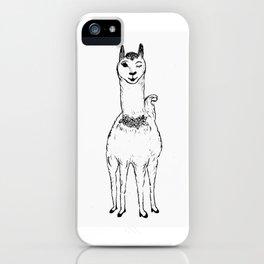 Gabrillama iPhone Case