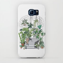greenhouse illustration iPhone Case