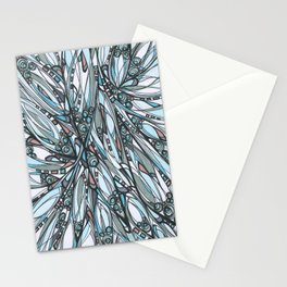 Cathedral Abstract Contemporary Art Stationery Cards
