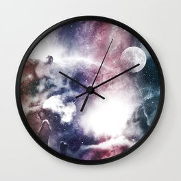 Nibuleuse Wall Clock