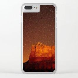 Rock Formation Sedona Arizona Clear iPhone Case