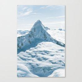 Majestic Mt. Aspiring (Tititea) Canvas Print