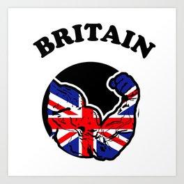Britain Art Print