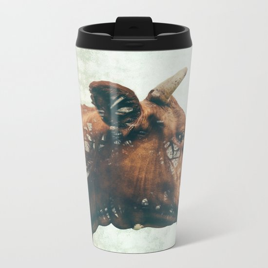 Portrait of Bess Metal Travel Mug
