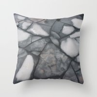 stockholm Throw Pillows featuring Stockholm  by Emily Deering