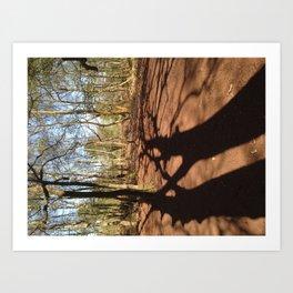 Forest Floor Art Print