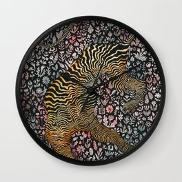 Headless tiger Wall Clock