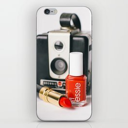 Class Comes in Red iPhone Skin