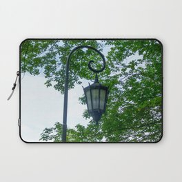 Lamppost Green Laptop Sleeve