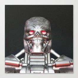 Me, Robot Canvas Print