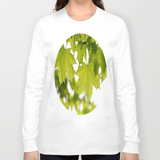 The Green Leaves of Summer Long Sleeve T-shirt