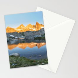 Minaret Lake in the morning Stationery Cards