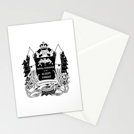 The Royal Kingdom of the Sleepy Forest Stationery Cards