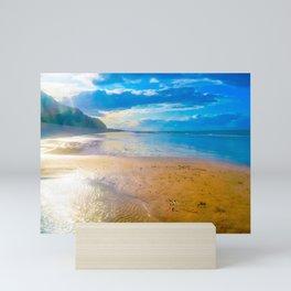 Sheringham Beach, Norfolk, U.K Mini Art Print