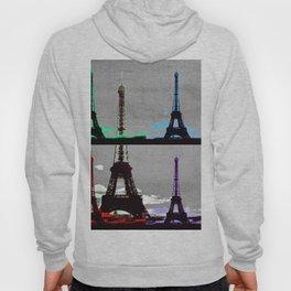 Paris, Eiffel Tower - Pop Art Hoody