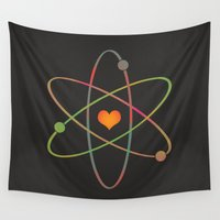 science Wall Tapestries featuring Science Rules! by CoryFreemanDesign