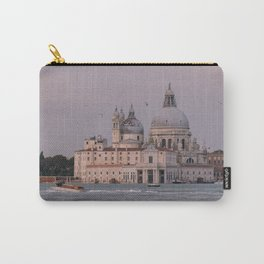 Venice Italy Photography, Saint Peter Basilica from the water, Sunset in Venice Wall Art  Carry-All Pouch