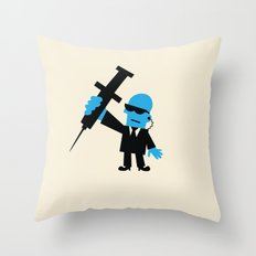GOVERNMENT TESTING Throw Pillow