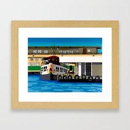 Ferry Framed Art Print