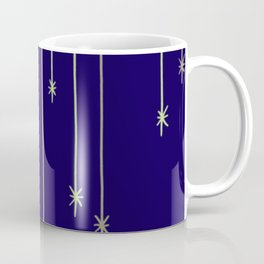 Star Lights Navy Coffee Mug