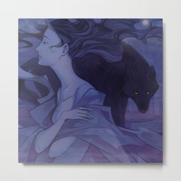 TWAU/FABLES Sleepless Metal Print