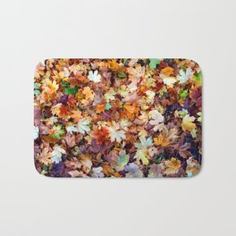 In the sea of leaves Bath Mat