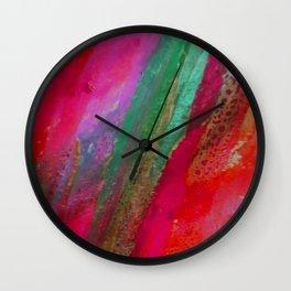 Inside the Rainbow 9 Wall Clock