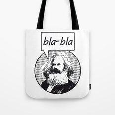 bla-bla Tote Bag