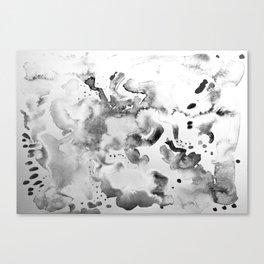 Abstract grey Canvas Print