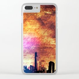 Old city Clear iPhone Case
