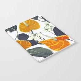 orange flowers Notebook
