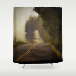 A Little Trip to Long Ago and Faraway Shower Curtain
