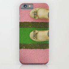 vintage pink & green iPhone 6s Slim Case