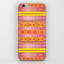 Orange Tribe Party iPhone Skin
