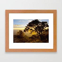 Grand Canyon sunrise Framed Art Print