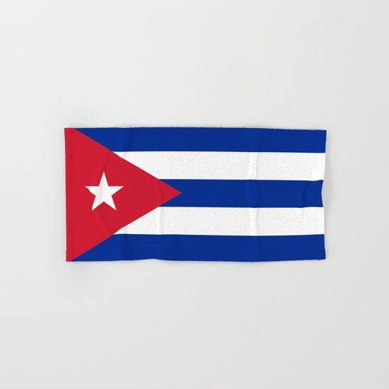 National flag of Cuba - Authentic HQ version by brucestanfield
