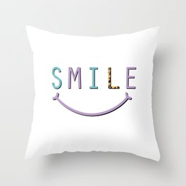 Nice statement shirt with a cool saying Throw Pillow