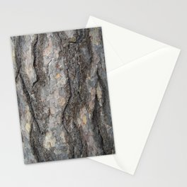 pine tree bark - scale pattern Stationery Cards