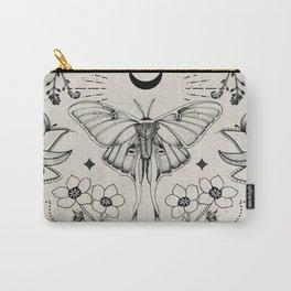 Bohemian Luna Moth Carry-All Pouch
