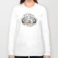 chicago Long Sleeve T-shirts featuring Chicago by pakowacz