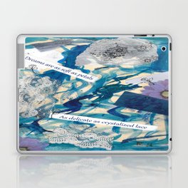 Petals and Snow Laptop & iPad Skin