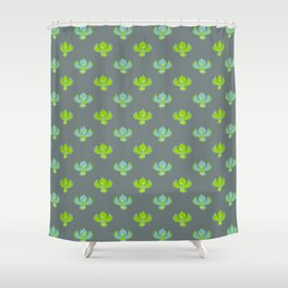 Cute little birds Shower Curtain
