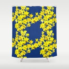 Daffodil Print Shower Curtain