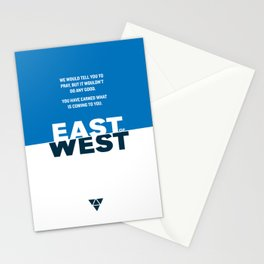 East of West Stationery Cards