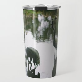 (the metal cranes) Travel Mug